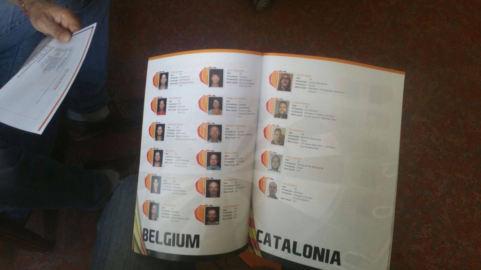 WDF Europe CUP 2016: CATALUNYA