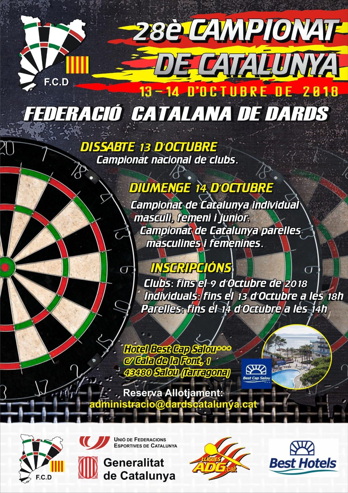 Cartell Campionat de Catalunya 2018