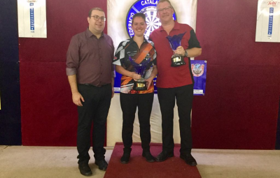 7th CATALONIA OPEN winners: Niels Heinsoe (DEN) and Sharon Prins (NET)<br>All brakets results + statistics