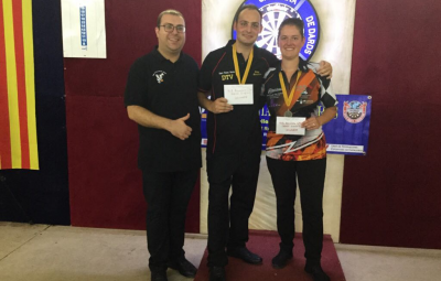 4th FCD ANNIVERSARY OPEN winners Kay Smeets (NET) and Sharon Prins<br>All brakets results + statistics (NET)