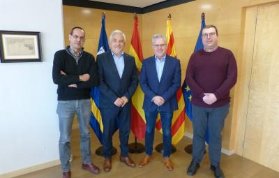 #MedCup2019 L'Ajuntament de Salou i la Secreteria General de l'Esport amb la MED CUP 2019