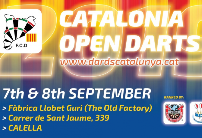 CATALONIA OPEN DARTS 2019