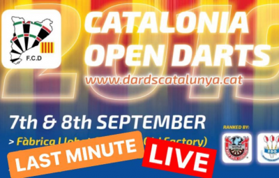 Last minute and Streaming TV #CataloniaOpen2019 #FCDAnniversary2019