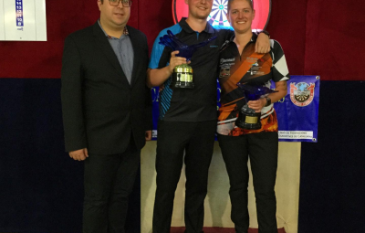 8th CATALONIA OPEN winners: Kevin Doets -NET and Sharon Prins -NET