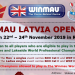 Winmau Latvia Open 2019