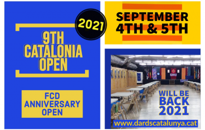 Catalonia Open Dards 2021