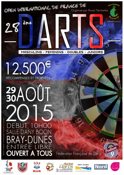 28th French Open<br>La propera cita del BDO Western Europe Ranking