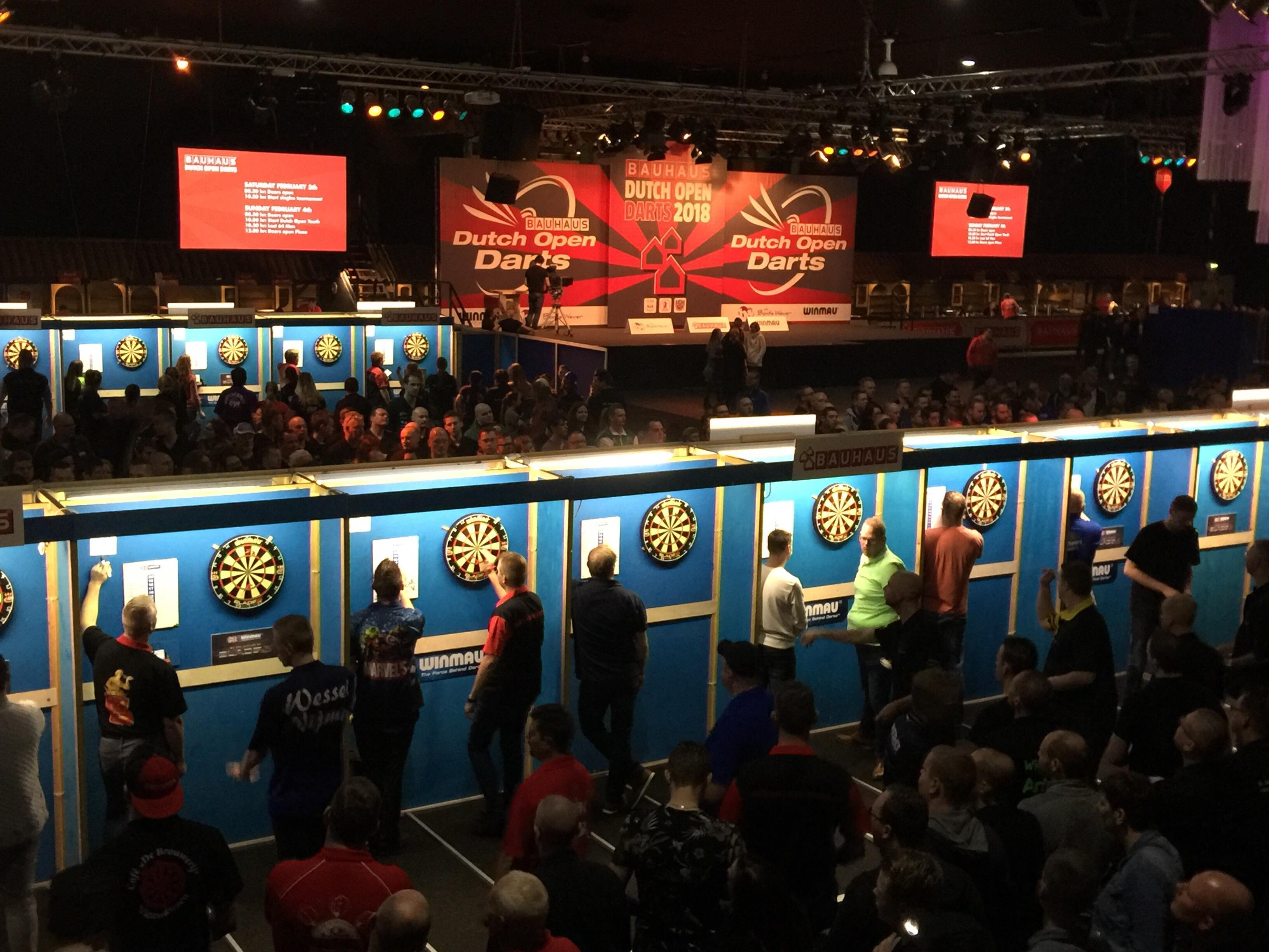 2018 Bauhaus Dutch Open Darts