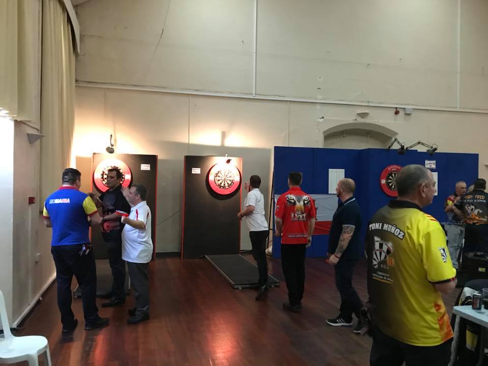 2018 Gibraltar Open Darts: fotos