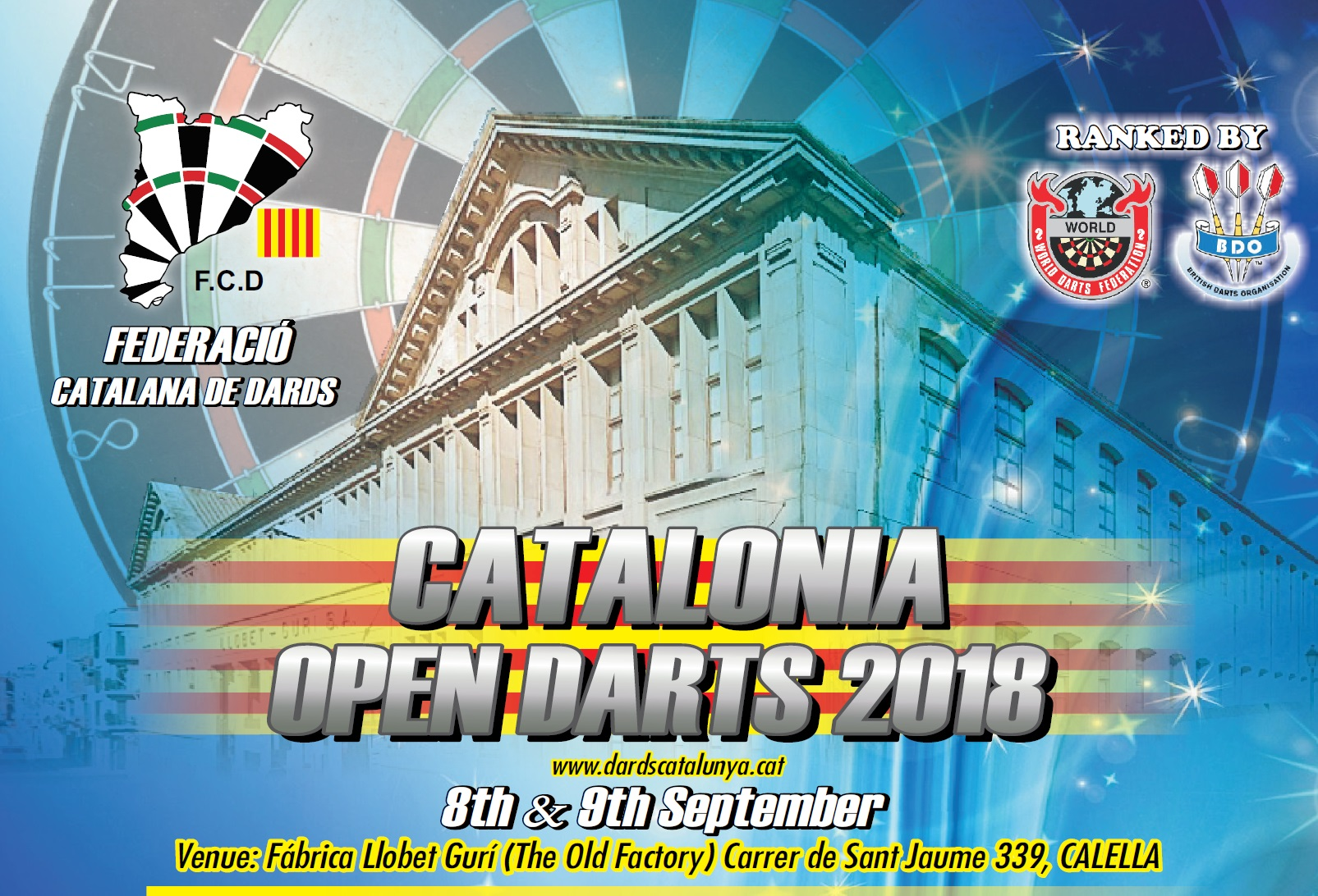 Catalonia Open Darts 2018: #CataloniaOpen2018 Last Minute