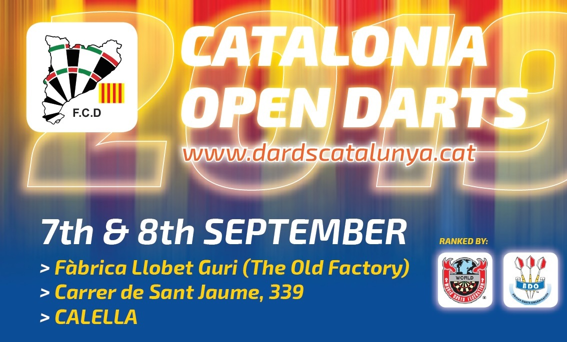 8th Catalonia Open & FCD Anniversary 2019<br>Schedule / Prizes