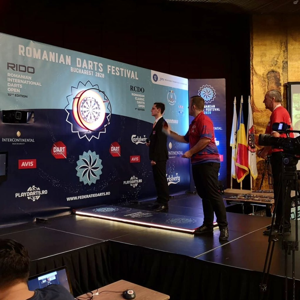 Romanian Darts Festival 2020 Martin Marti 2on Classificat